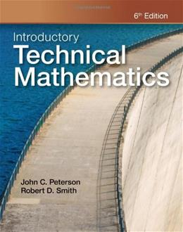 Introductory Technical Mathematics 6 9781111542009