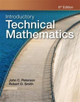 Introductory Technical Mathematics, by Smith, 6th Edition 9781111542016