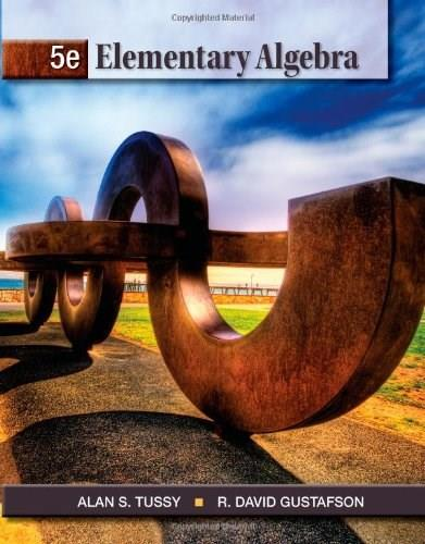 Elementary Algebra, 5th Edition (Textbooks Available with Cengage Youbook) 9781111567668