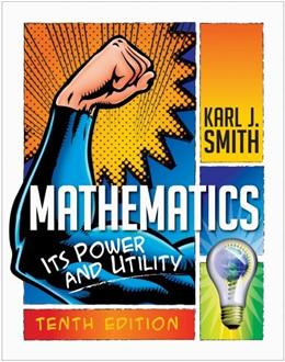 Mathematics: Its Power and Utility 10 9781111577421