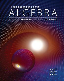 Intermediate Algebra (Textbooks Available with Cengage Youbook) 8 9781111579494
