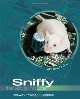 Sniffy the Virtual Rat Lite, by Alloway, 3rd Edition 3 w/CD 9781111726171