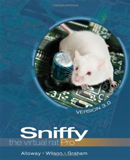 Sniffy the Virtual Rat Pro, Version 3.0 (with CD-ROM) (PSY 361 Learning) 3 w/CD 9781111726256