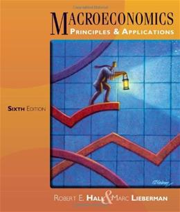 Macroeconomics: Principles and Applications 6 9781111822354