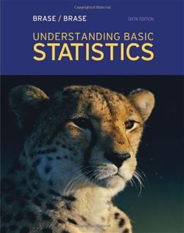 Understanding Basic Statistics, 6th Edition 9781111827021
