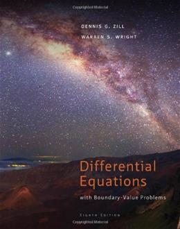 Differential Equations with Boundary-Value Problems, 8th Edition 9781111827069