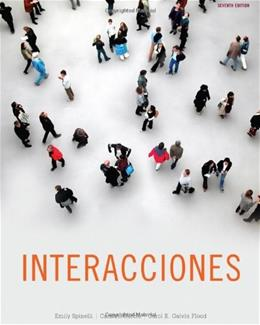 Interacciones, by Spinelli, 7th Edition 7 w/CD 9781111827410