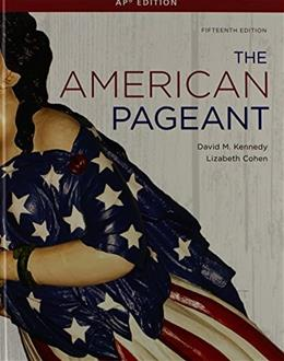 American Pageant: A History of the American People, AP Edition 15 9781111831066