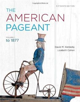 American Pageant, Volume 1 15 9781111831424