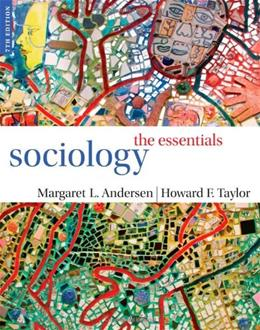 Sociology: The Essentials, by Andersen, 7th Edition 9781111831561