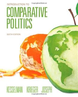 Introduction to Comparative Politics 6 9781111831820