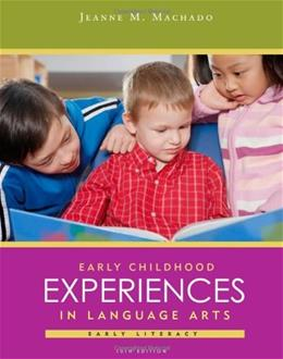 Early Childhood Experiences in Language Arts: Early Literacy 10 9781111832612