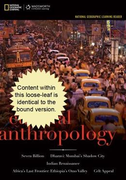 Cultural Anthropology: A Problem Based Approach, by Robbins, 6th Cengage Advantage Edition 9781111833947