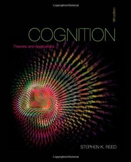 Cognition: Theories and Applications 9 9781111834548