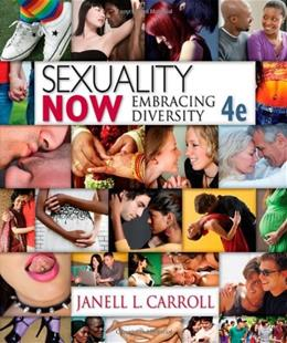 Sexuality Now: Embracing Diversity, 4th Edition 9781111835811