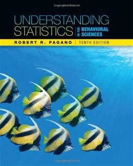 Understanding Statistics in the Behavioral Sciences, 10th Edition 9781111837266