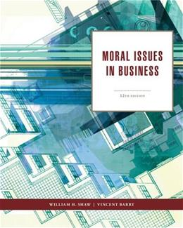 Moral Issues in Business 12 9781111837426