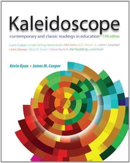 Kaleidoscope: Contemporary and Classic Readings in Education 13 9781111839000