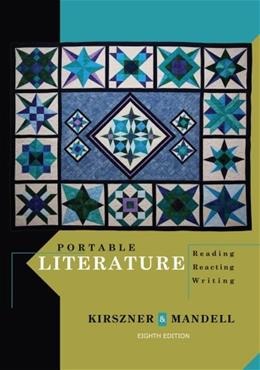 Portable Literature: Reading, Reacting, Writing 8 9781111839048