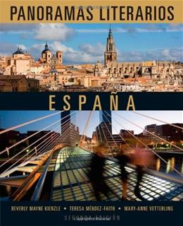 Panoramas Literarios: Espana, by Vetterling, 2nd Edition 9781111839147