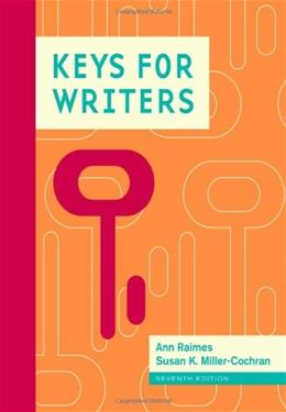 Keys for Writers 7 9781111841751