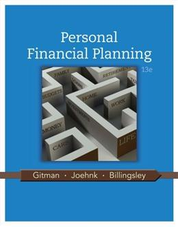 Personal Financial Planning 13 9781111971632