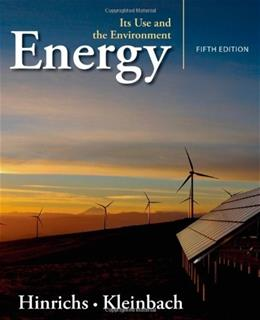 Energy: Its Use and the Environment 5 9781111990831