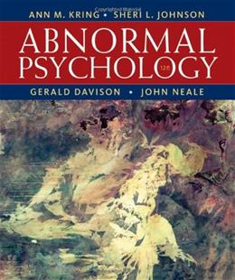 Abnormal Psychology, 12th Edition 9781118018491
