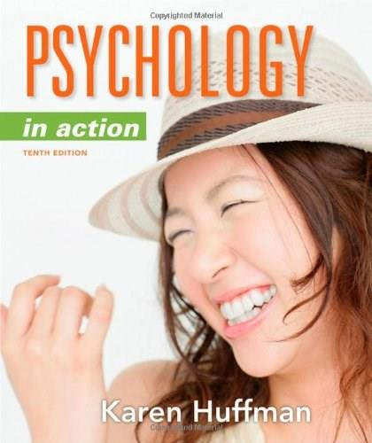Psychology in Action, 10th Edition 9781118019085