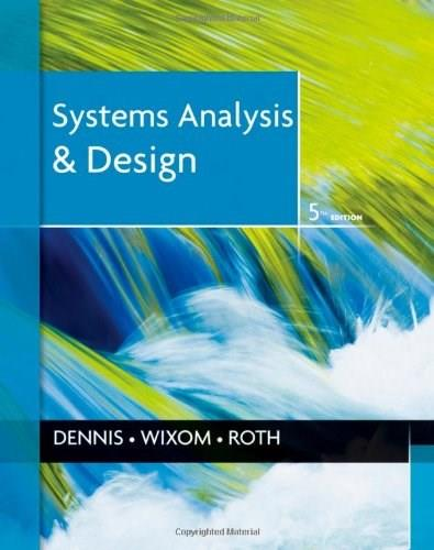 Systems Analysis and Design 5 9781118057629