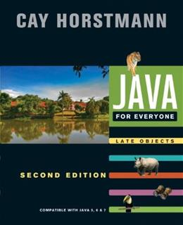 Java For Everyone: Late Objects 2 9781118063316