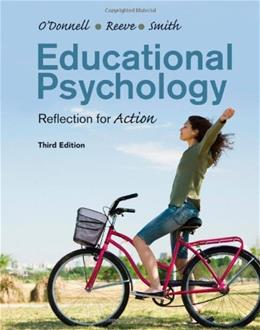 Educational Psychology: Reflection for Action 3 9781118076132