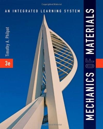 Mechanics of Materials: An Integrated Learning System 3 9781118083475
