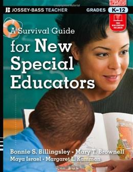Survival Guide for New Special Educators, by Billingsley 9781118095683