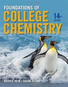 Foundations of College Chemistry 14 9781118133552