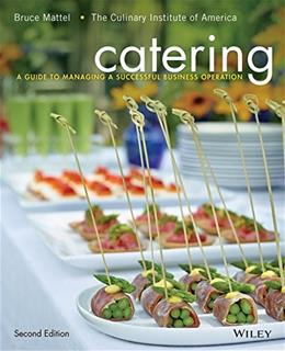 Catering: A Guide to Managing a Successful Business Operation, by Mattel, 2nd Edition 9781118137970