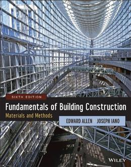 Fundamentals of Building Construction: Materials and Methods 6 PKG 9781118138915