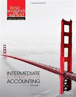 Intermediate Accounting, Volume 1 15 9781118147276