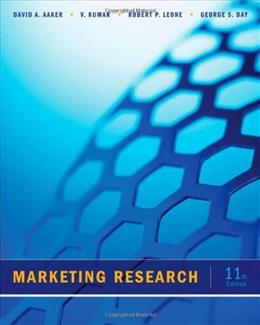 Marketing Research 11 9781118156636