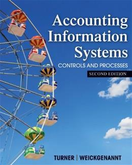 Accounting Information Systems: The Processes and Controls 2 9781118162309