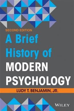 Brief History of Modern Psychology 2 9781118206775
