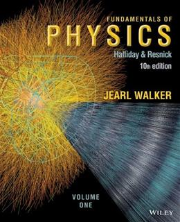 Fundamentals of Physics, Volume 1 (Chapters 1 - 20) - Standalone book 10 9781118233764