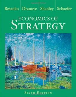 Economics of Strategy 6 9781118273630