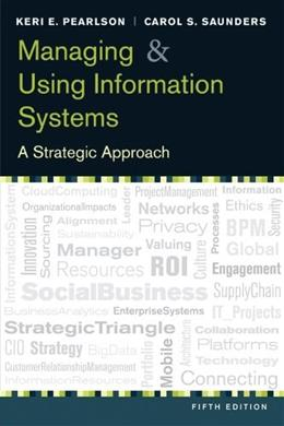Managing and Using Information System 5 9781118281734