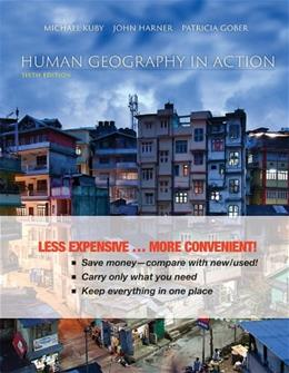 Human Geography in Action, by Kuby, 6th Binder Ready Version 9781118291528