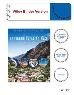 Environmental Science: Earth as a Living Planet, by Botkin, 9th Edition 9781118291979