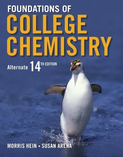 Foundations of College Chemistry 14 9781118298237