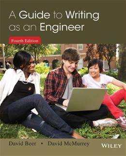 A Guide to Writing as an Engineer 4 9781118300275