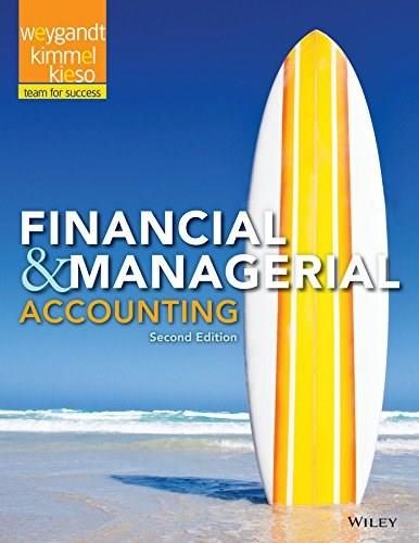 Financial and Managerial Accounting 2 9781118334263