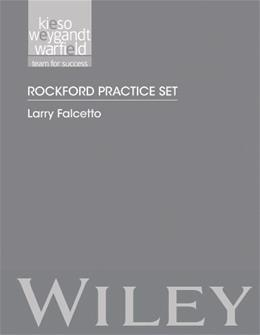 Intermediate Accounting, by Kieso,15th Edition, Rockford Practice Set, Study Guide 9781118344163